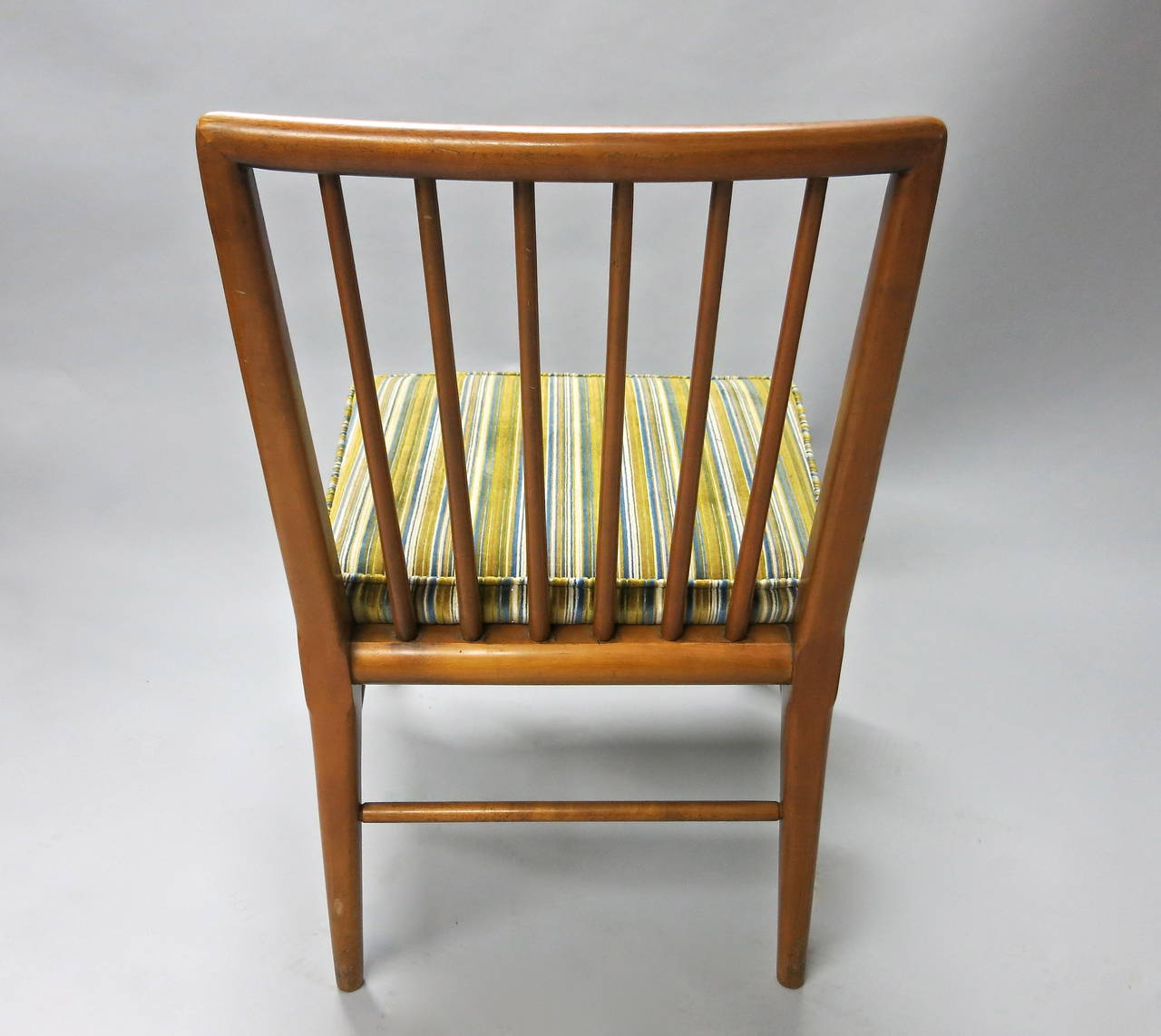 set of six dining chairs by widdicomb circa 1950