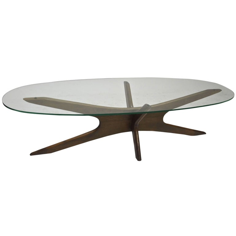 Coffee Table By Adrian Pearsall For Craft Associates Circa 1965
