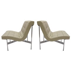 Pair of Chairs by Katavolos Littell & Kelley for Laverne 1952 American