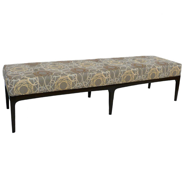 72 Mid Century Modern Upholstered Bench At 1stdibs