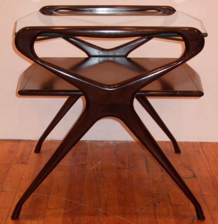 Kagan Style Side Table For Sale 1