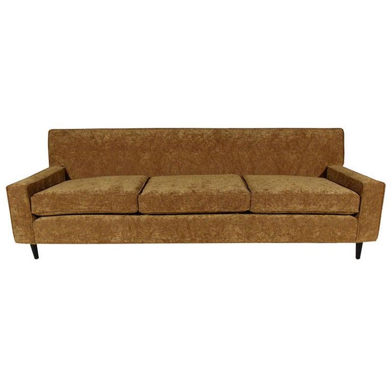 dunbar style button back sofa at 1stdibs