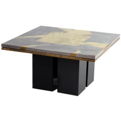 Christian Heckscher Square Coffee Table