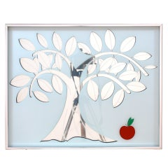 Apple Tree Mirrored  Wall Art by Greg Copeland