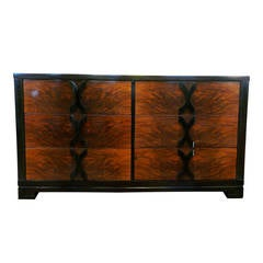 1940s Walnut Dresser by Modernage