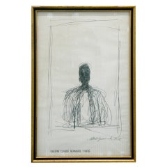 Alberto Giacometti, Drawing of a Man