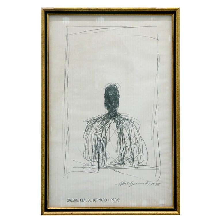 Alberto Giacometti, Drawing of a Man