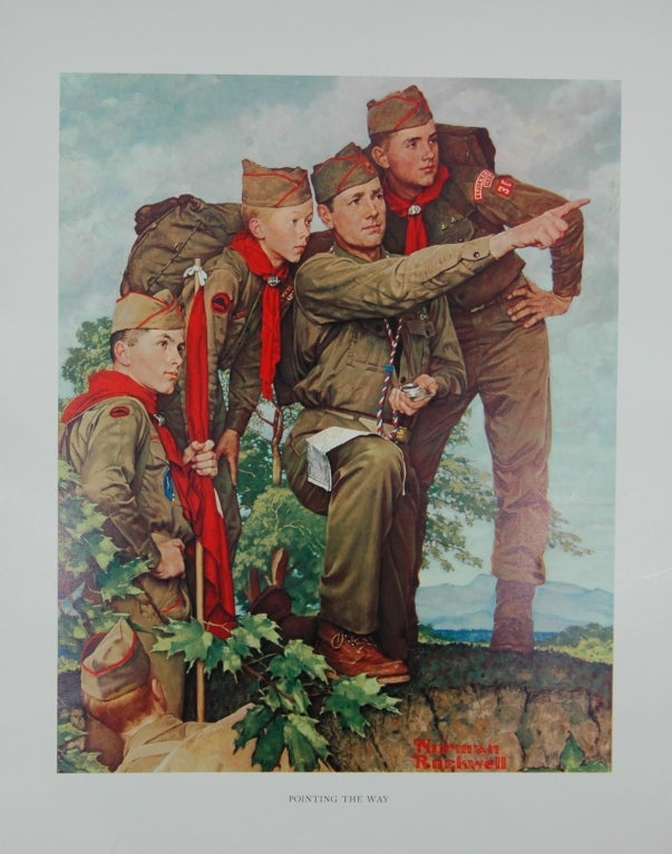 Set of five prints after Norman Rockwell 10