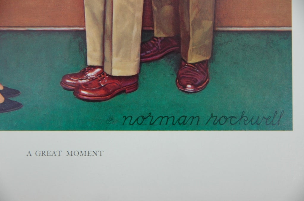 Set of five prints after Norman Rockwell 3