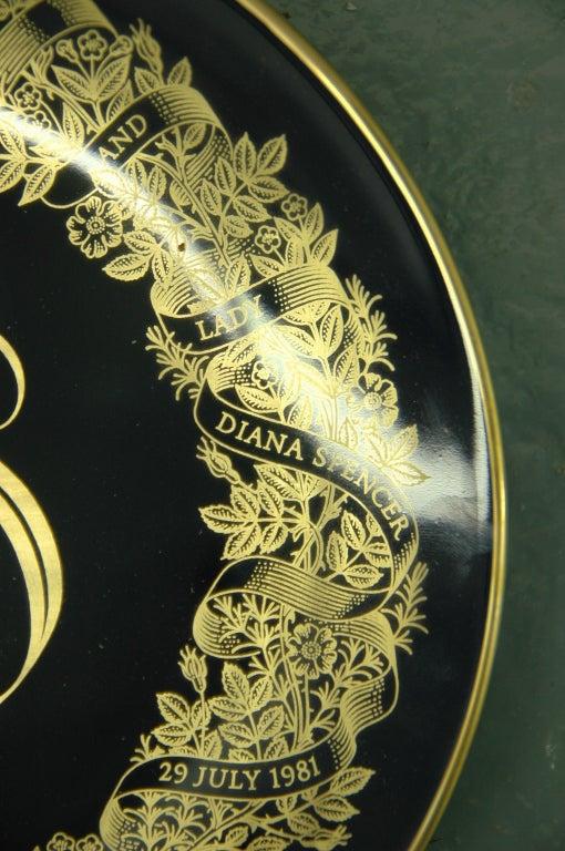 Royal Wedding Plate: Charles and Diana 3