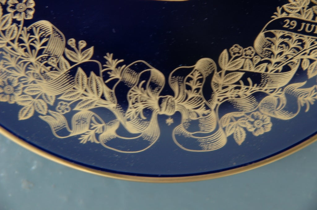 Royal Wedding Plate: Charles and Diana 5