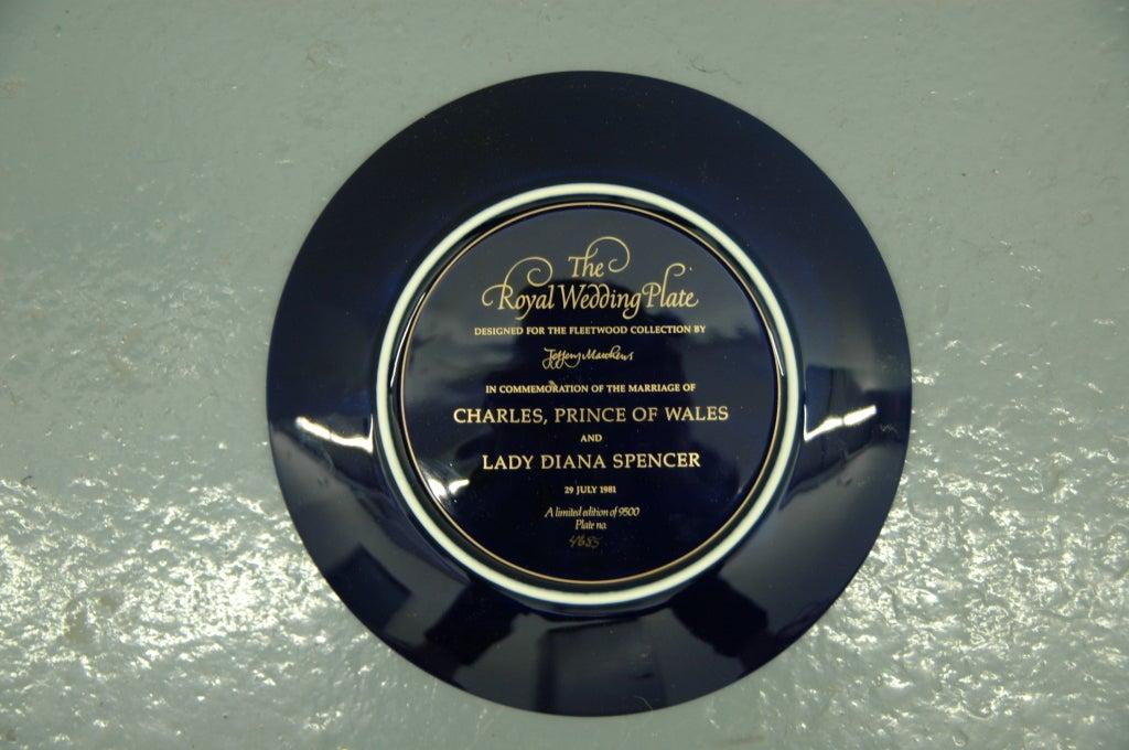 Royal Wedding Plate: Charles and Diana 6