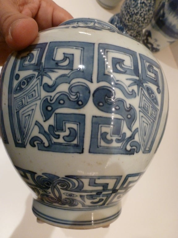 Blue and White Vase 3