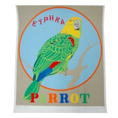 "Robert Indiana ""Parrot"" Screen Print"