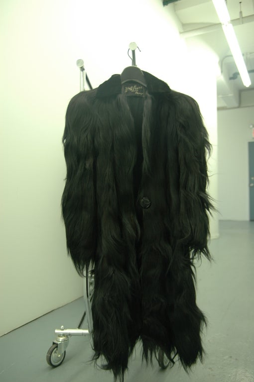 Vintage Monkey Fur Jackets for Assembly into a Throw Blanket For Sale 3