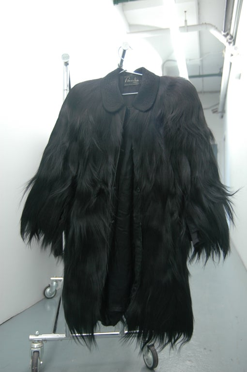 20th Century Vintage Monkey Fur Jackets for Assembly into a Throw Blanket For Sale