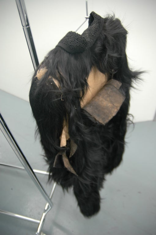 Vintage Monkey Fur Jackets for Assembly into a Throw Blanket For Sale 2