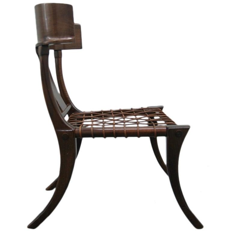 Klismos Chair attributed to T H Robsjohn Gibbings at 1stdibs