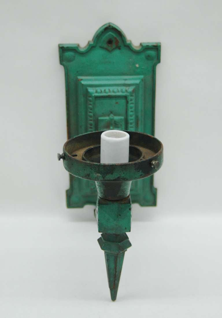 Pair Of Train Station Wall Mount Light Fixtures At 1stdibs