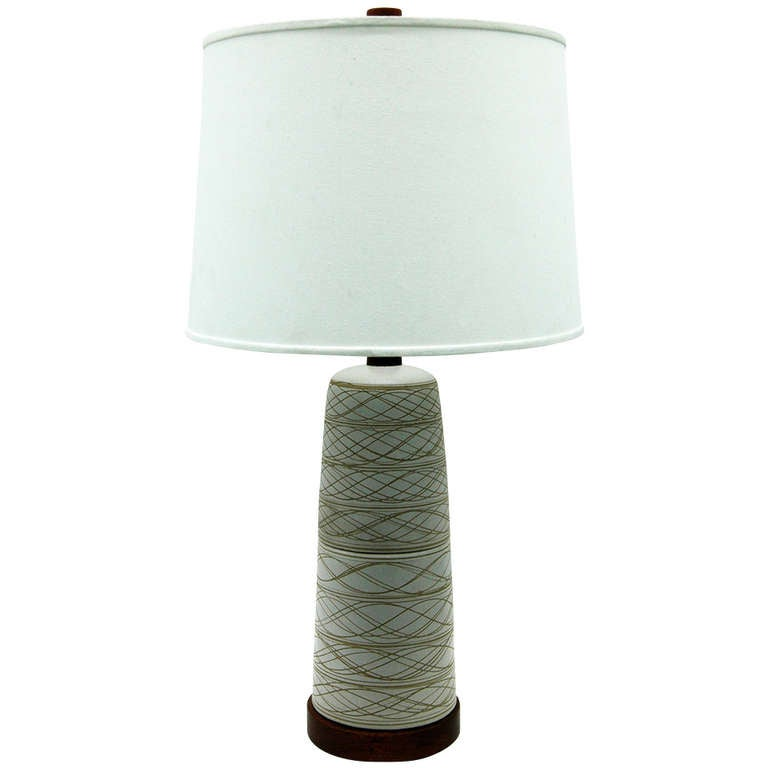 Large Table Lamp by Martz for Marshall Studios