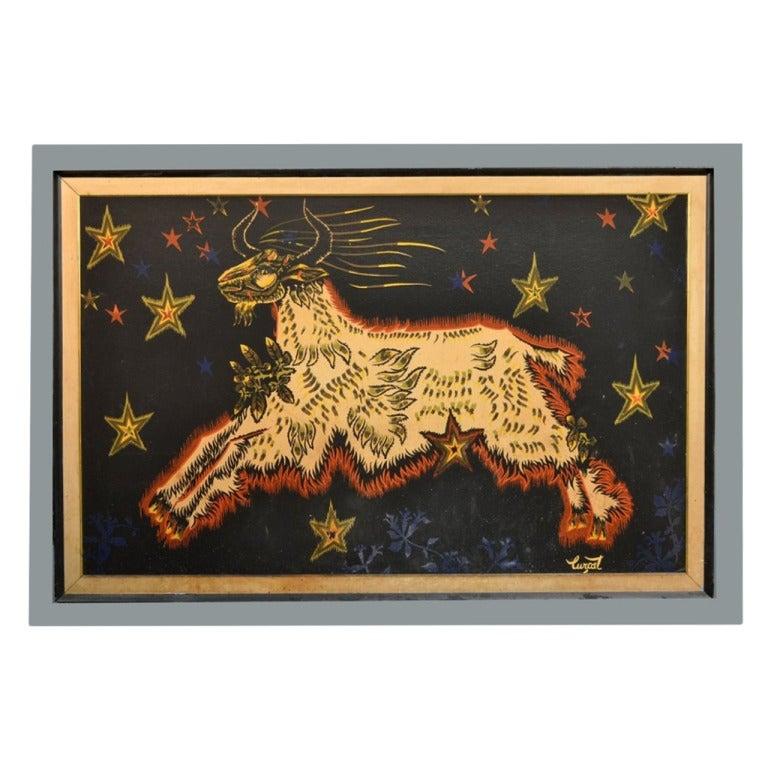 Framed Tapestry by Jean Lurcat
