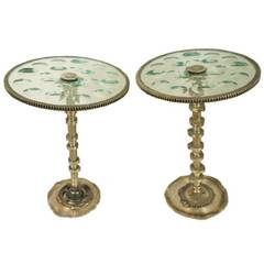 Pair of Magiscope Side Tables by Feliciano Bejar