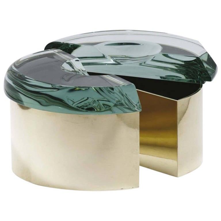 Set of Roberto Giulio Rida Crystal Boxes