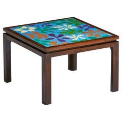 Enameled Side Table by Harvey Probber