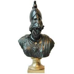 Bronze Bust of a Goddess