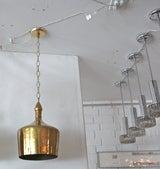 Heavy Brass Jug Pendants image 2