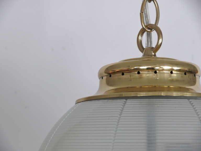 20th Century Azucena Globe Pendant For Sale