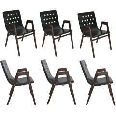 Set of 6 Stadhalle Chairs by Rainer