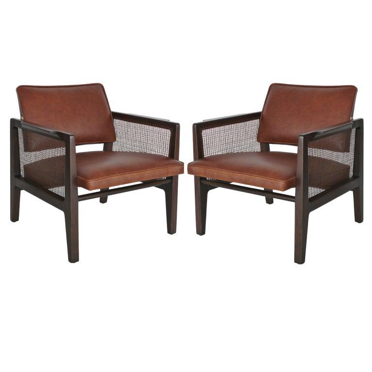 Edward wormley for dunbar chairs at 1stdibs - Edward wormley chairs ...