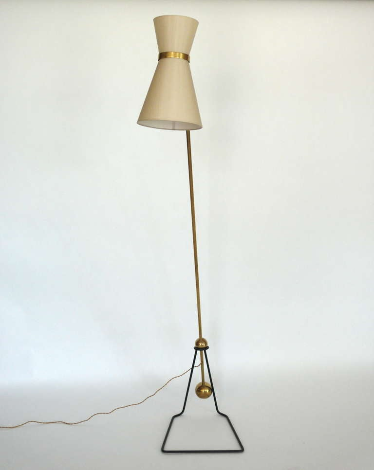 Pierre Guariche Style Floor Lamps At 1stdibs