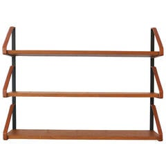 Jacques Adnet Style Bookshelf