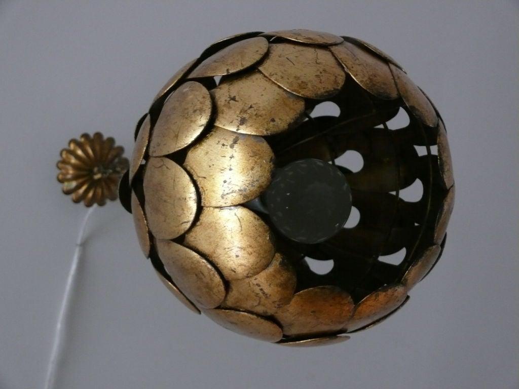 Scalloped Ceiling Light 3