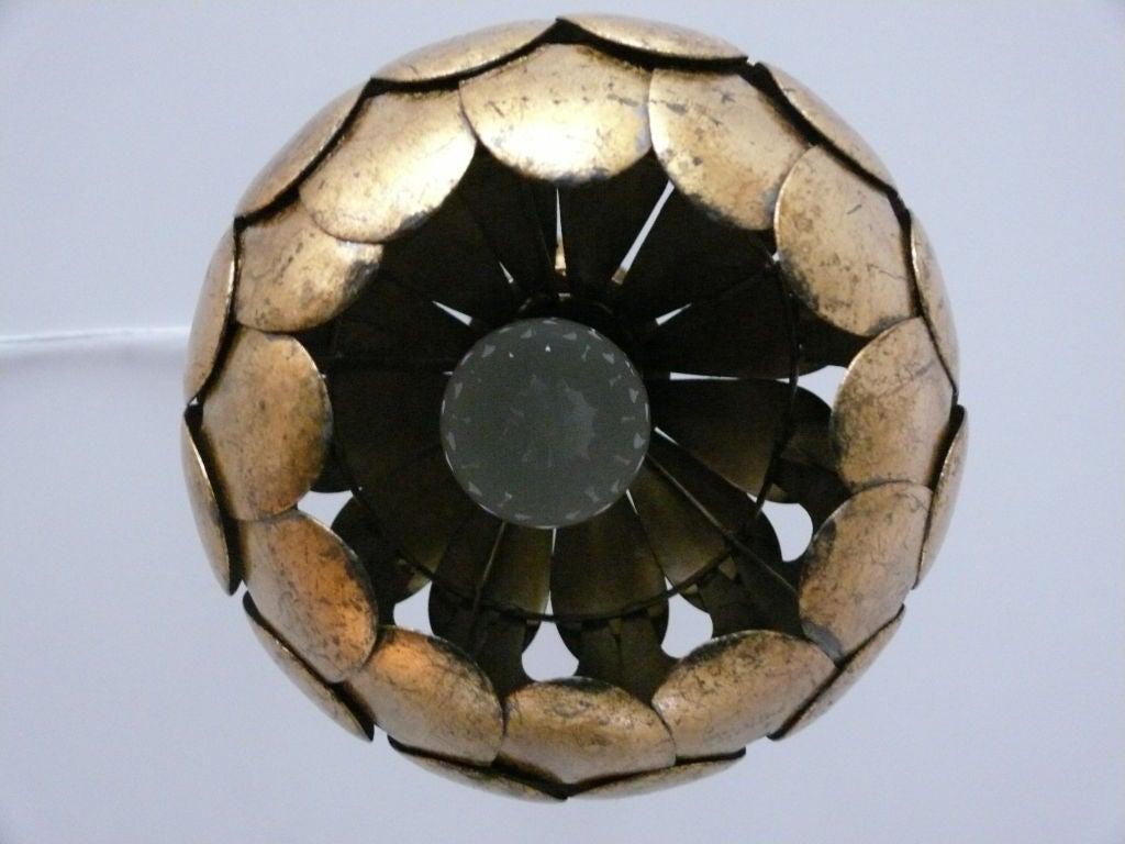Scalloped Ceiling Light 4