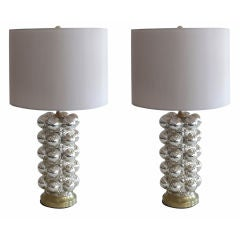 Bubble Mercury Glass Lamps