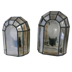 Austrian Iron and Glass Sconces