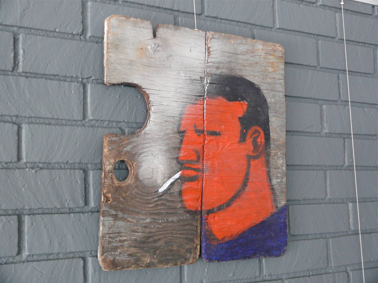 Robert Loughlin Painting on Wood 2