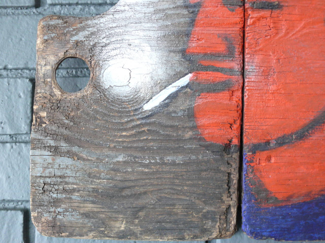 Robert Loughlin Painting on Wood 6