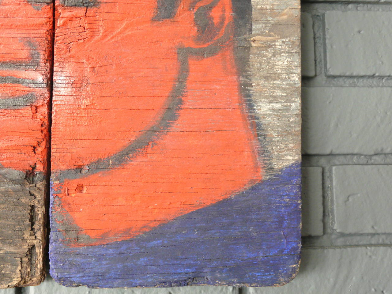 Robert Loughlin Painting on Wood 7