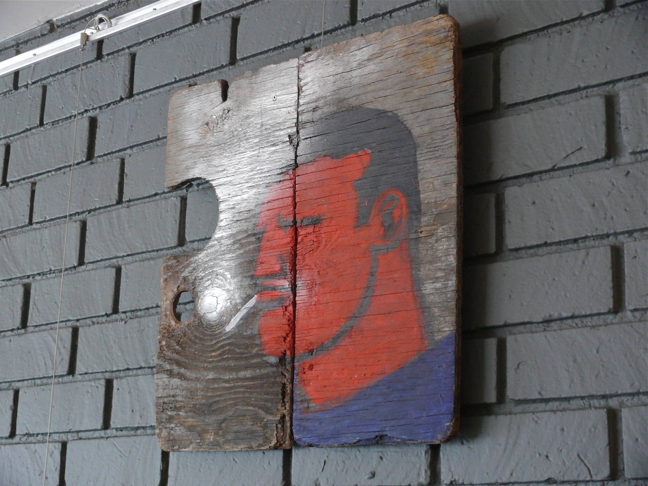 Robert Loughlin Painting on Wood 3