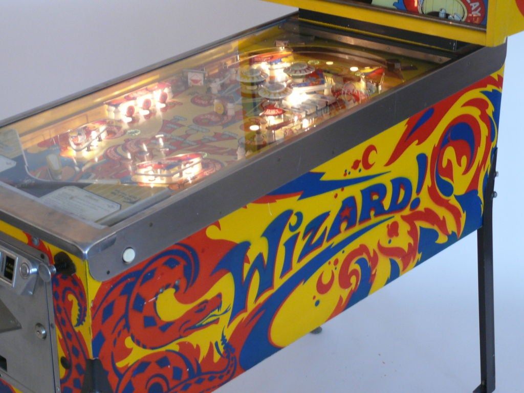 Wizard Pinball Machine At 1stdibs