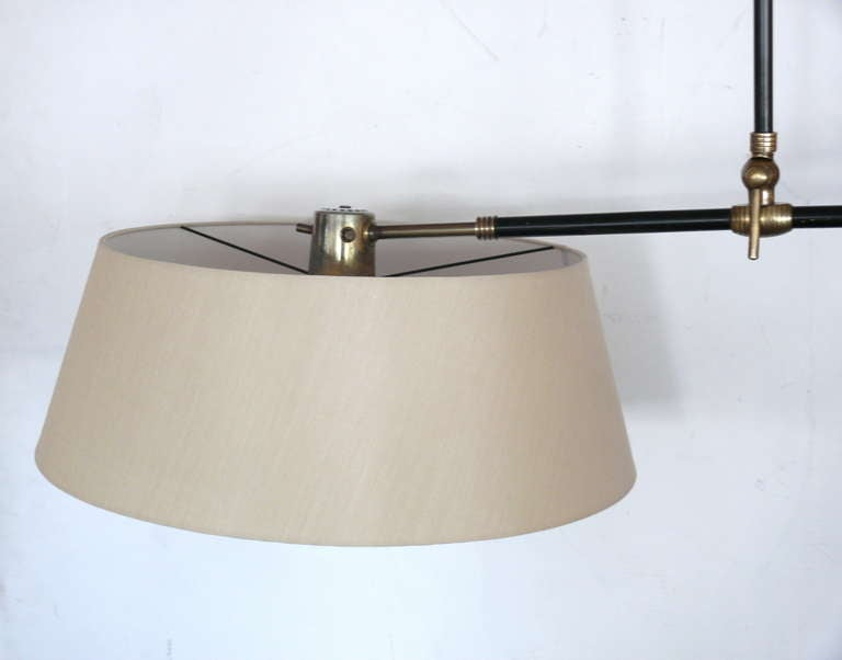 Large Metal Wall Sconces : Large French Brass and Metal Wall Sconce at 1stdibs