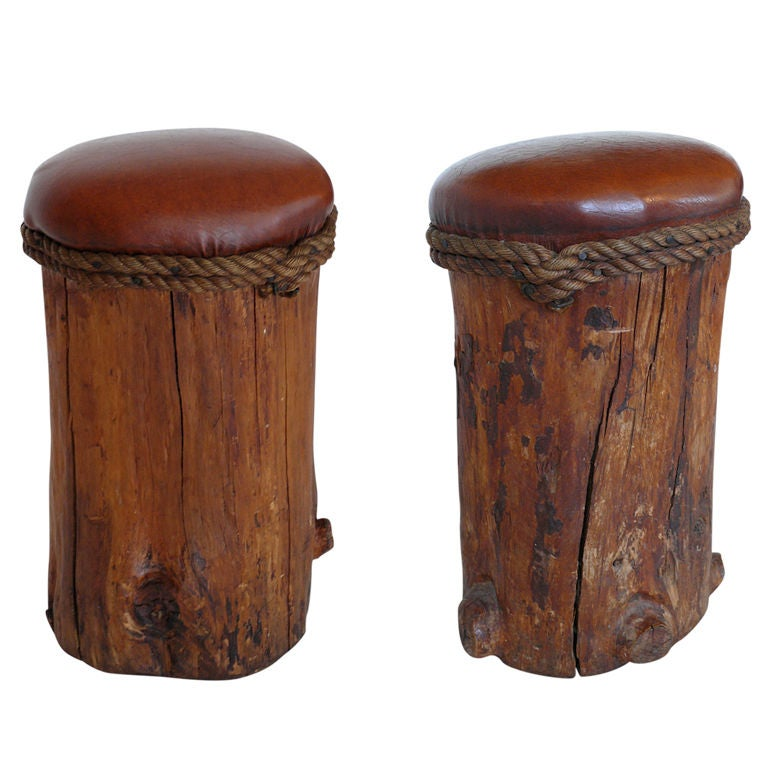 Inside The Stunning Tree Trunk Stool 21 Pictures