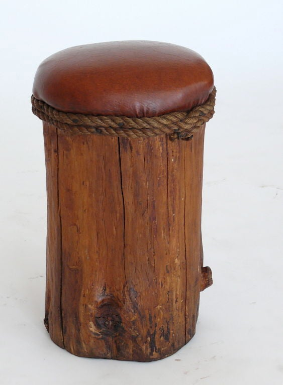 Tree Stump Stools At 1stdibs