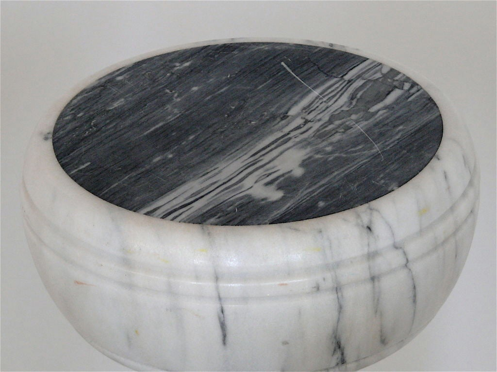 Carved Marble Garden Stools 6
