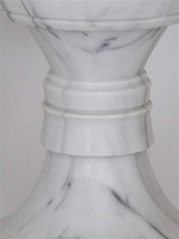 Carved Marble Garden Stools 7