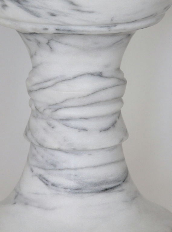 Carved Marble Garden Stools 8